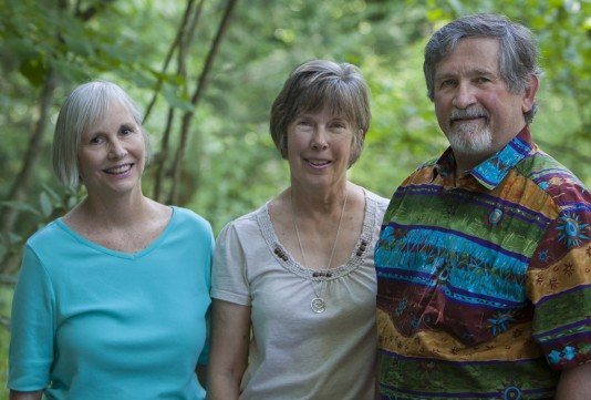 Susan Coyle, Jane Mary Curran, Bob Mustin